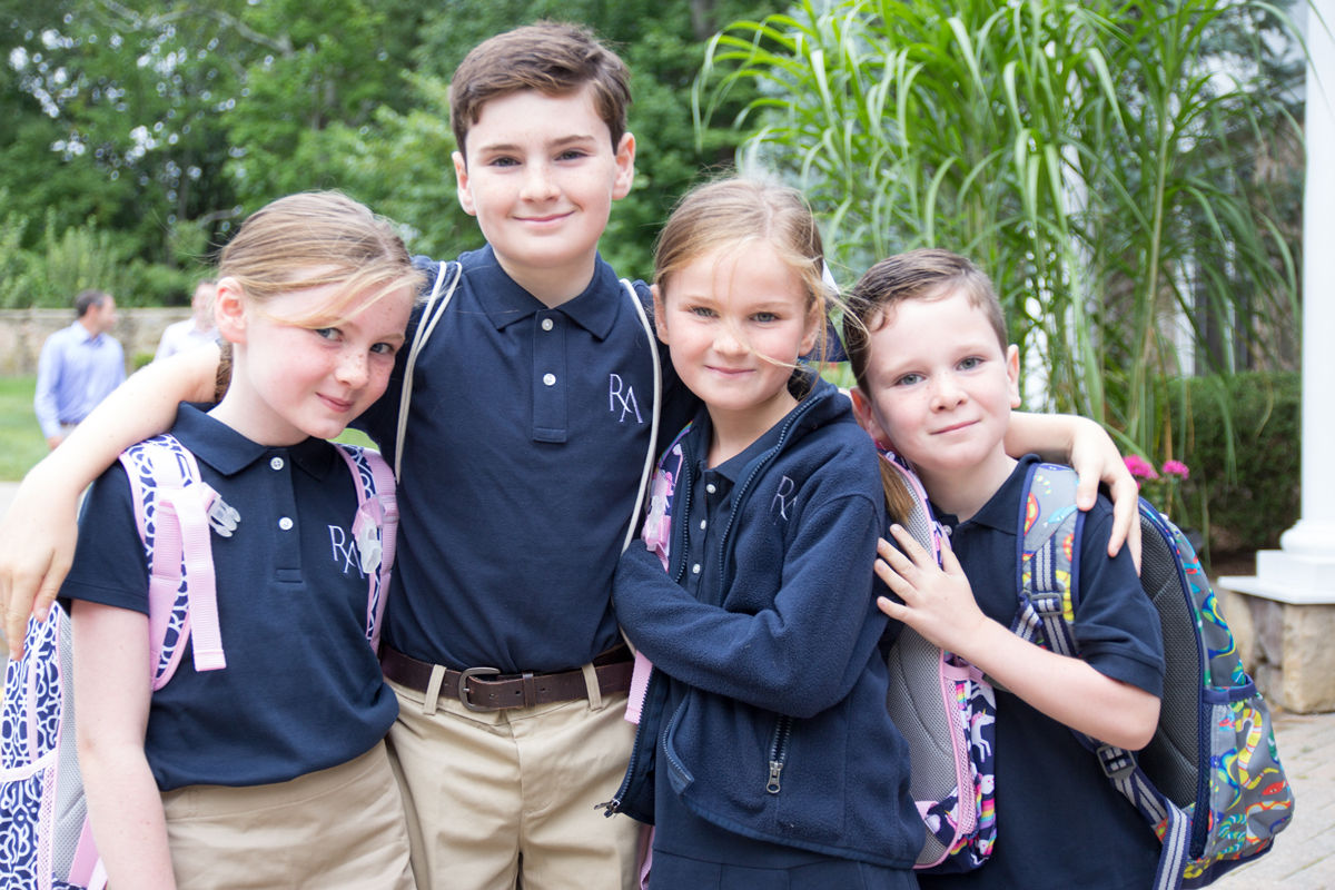 Ridgefield Academy Lower School Students