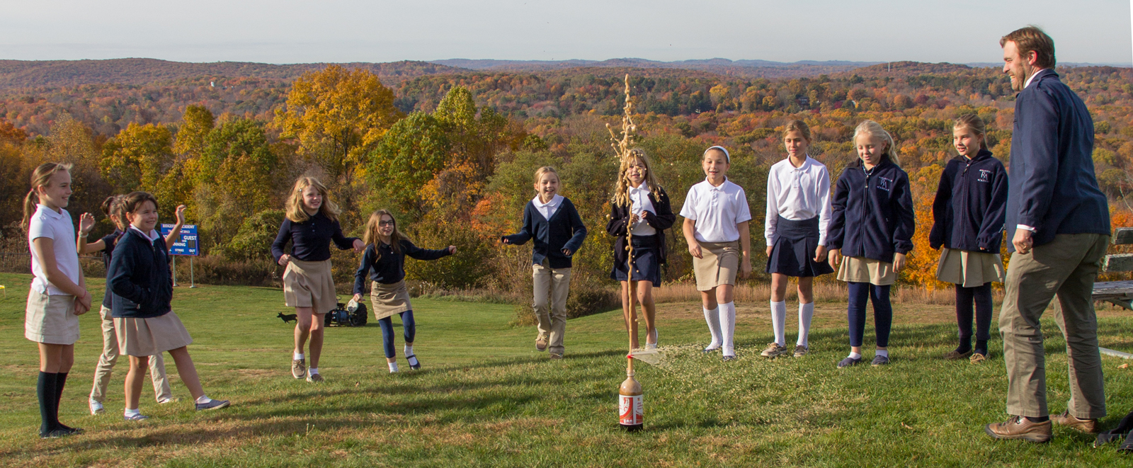 Ridgefield Academy Middle School Science Class Experiment